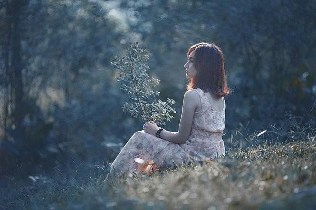 Woman Asian Sitting - Free photo on Pixabay (773608)