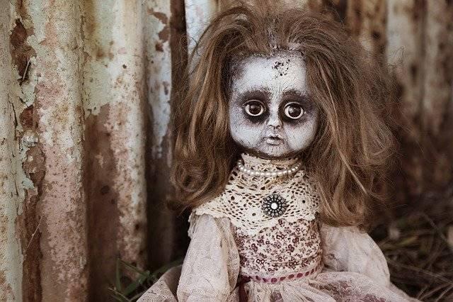 Doll Creepy Spooky - Free photo on Pixabay (774853)