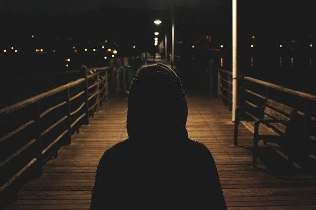 Hoodie Sweater Dark - Free photo on Pixabay (774875)