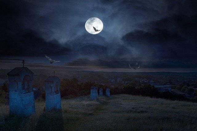 Halloween Cemetery Dark - Free photo on Pixabay (774878)
