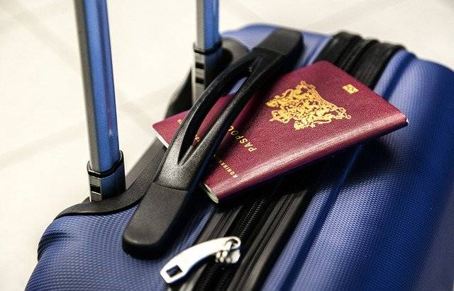 Passport Luggage Trolley - Free photo on Pixabay (775583)
