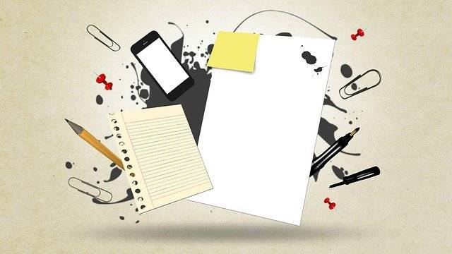 Paper Messy Notes - Free image on Pixabay (776532)