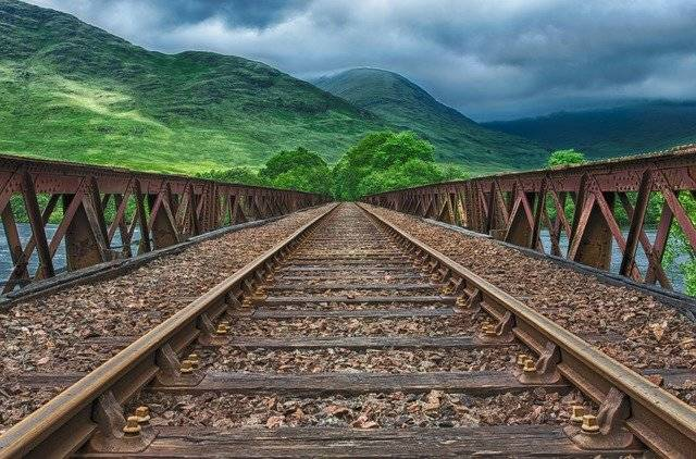 Railway Rails Track - Free photo on Pixabay (776540)