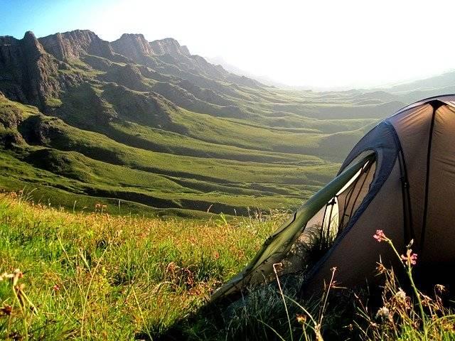Tent Mountains Sani Pass South - Free photo on Pixabay (776920)