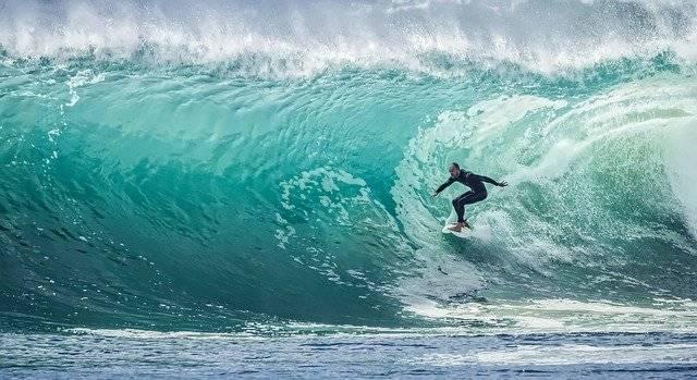 Wave Surfer Sport - Free photo on Pixabay (776931)