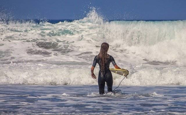 Surfer Surfboard Sea Water - Free photo on Pixabay (776953)