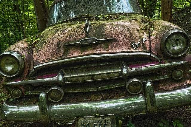 Auto Car Cemetery Oldtimer - Free photo on Pixabay (777298)