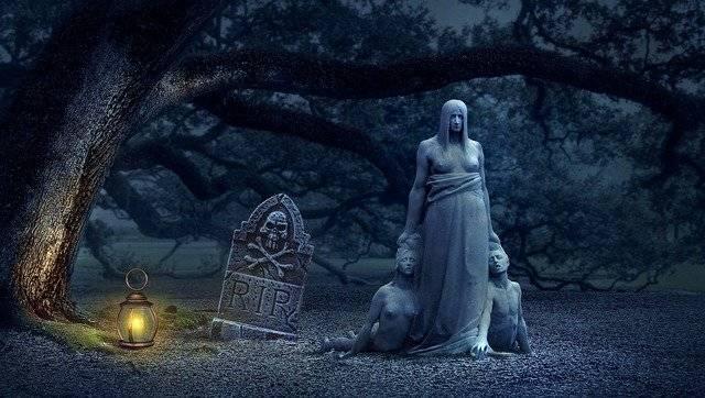 Fantasy Tombstone Creepy - Free photo on Pixabay (777313)