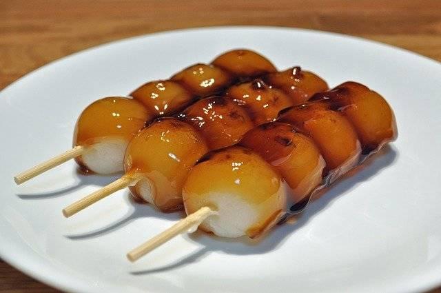 Mitrashi Dango Food Glazed - Free photo on Pixabay (777777)
