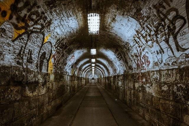 Tunnel Underground Underpass - Free photo on Pixabay (778063)