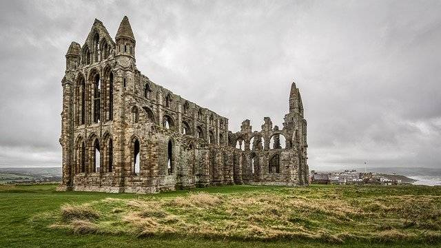 Whitby Abbey Dracula Bram Stoker - Free photo on Pixabay (778159)