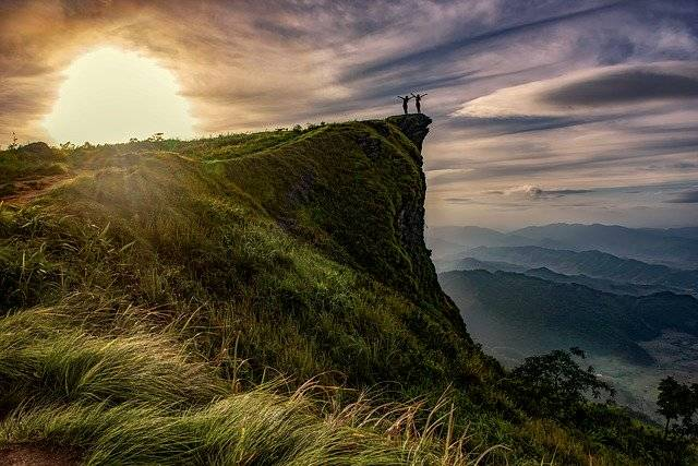 Cliff Adventure Above - Free photo on Pixabay (779534)