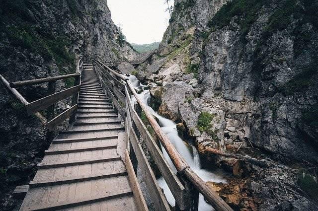 Stairway Wooden Bridge - Free photo on Pixabay (779640)