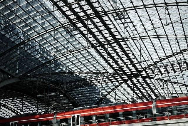 Glass Roof Railway Station Berlin - Free photo on Pixabay (780000)