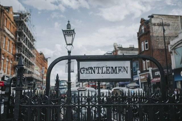 Gentlemen Underground London - Free photo on Pixabay (780003)