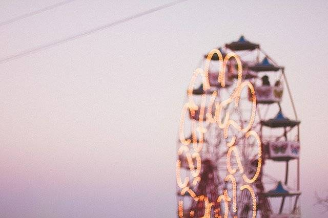 Ferris Wheel Amusement Park Rides - Free photo on Pixabay (780008)