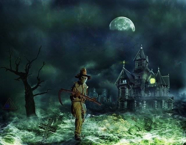 Grim Reaper Horror Creepy - Free image on Pixabay (780454)