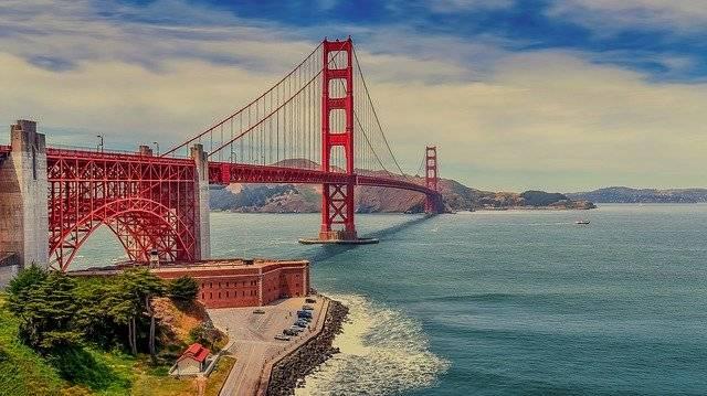 The Golden Gate Bridge - Free photo on Pixabay (780461)