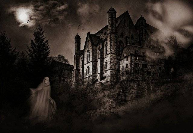 Castle Mystical Ghosts - Free photo on Pixabay (780472)