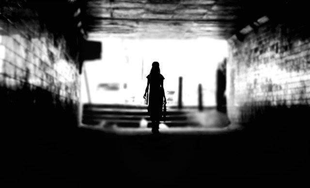 Dark Person Silhouette - Free photo on Pixabay (780995)