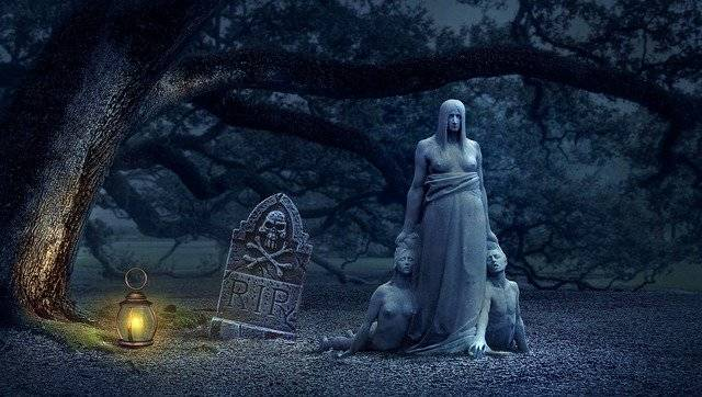 Fantasy Tombstone Creepy - Free photo on Pixabay (781067)