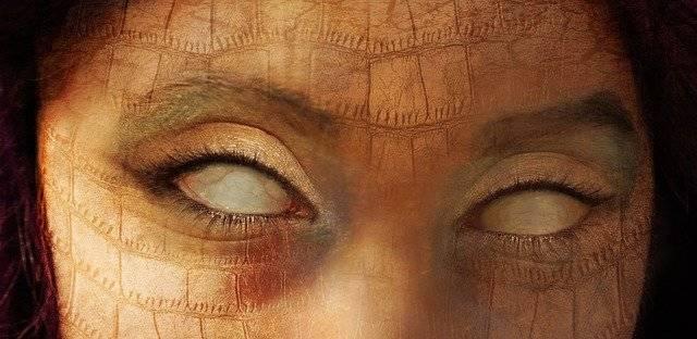 Eyes Creepy Horror - Free image on Pixabay (781083)