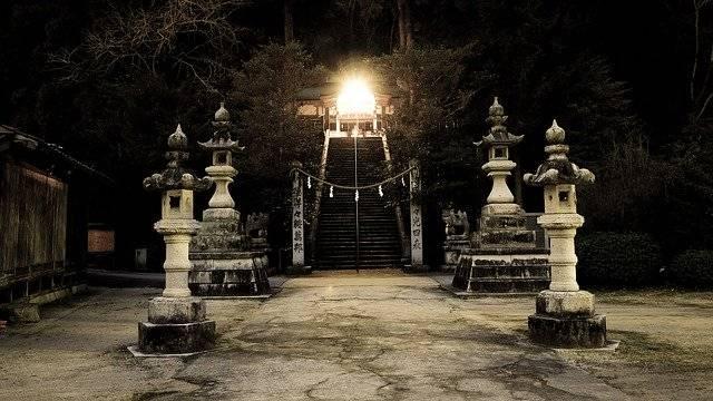 Shrine Japan Lantern Guardian - Free photo on Pixabay (781299)