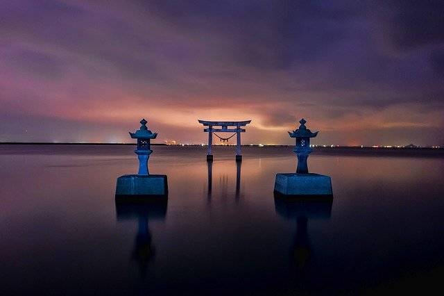 Japan Shrine Torii - Free photo on Pixabay (781300)