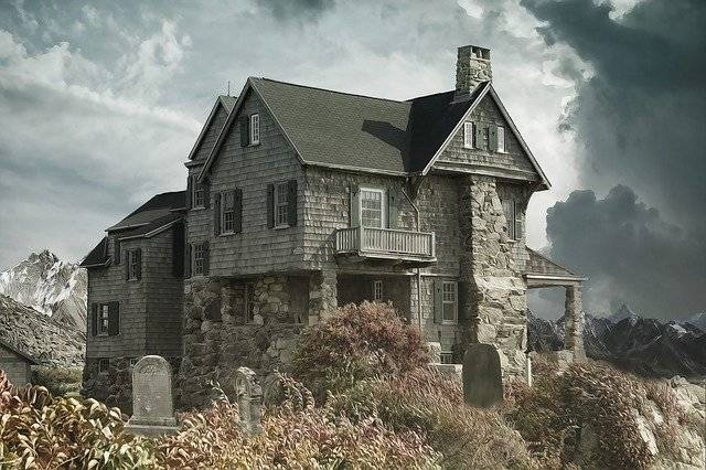 House Cemetery Haunted - Free photo on Pixabay (781375)