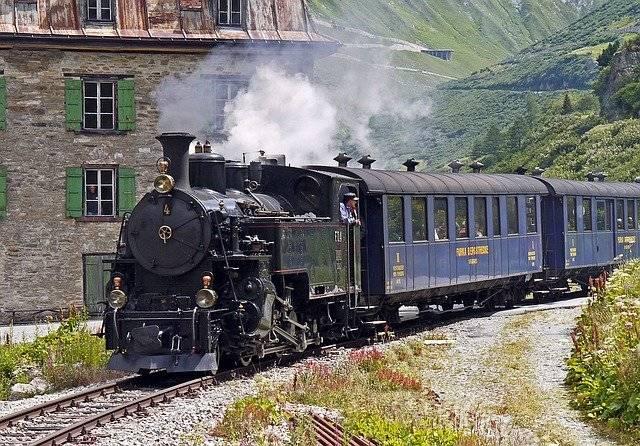 Steam Railway Furka-Bergstrecke - Free photo on Pixabay (781601)