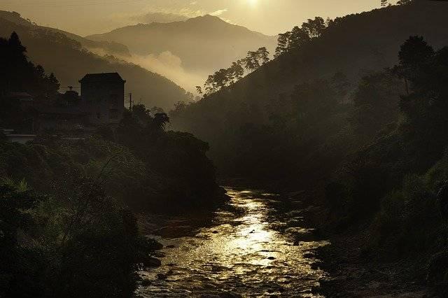 Dawn The High Mountains Fog - Free photo on Pixabay (781602)