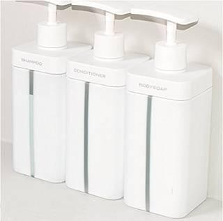 Amazon|RETTO ディスペンサーL 3個セット|ソープ・シャンプー用ディスペンサー - ホーム&キッチン オンライン通販 (741535)