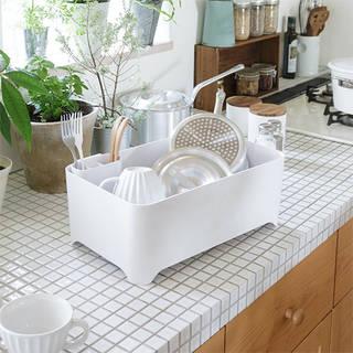 洗い桶になる水切りケース YOHAKU(余白)| 和平フレイズ 公式オンラインストア (741610)